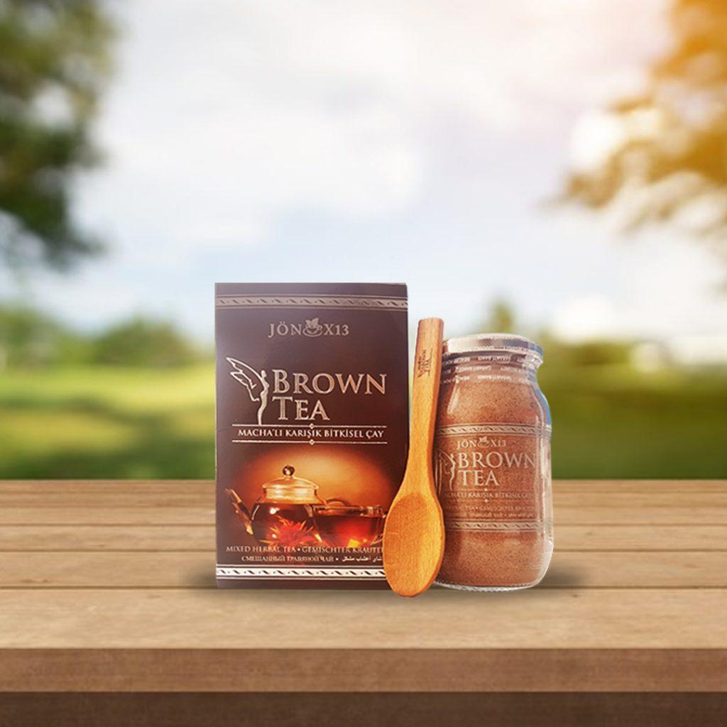 BROWN TEA