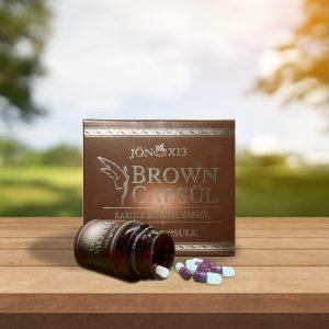 brown kapsul